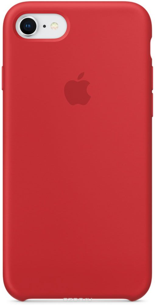 Apple Silicone Case чехол дл¤ iPhone 7/8, Product Red